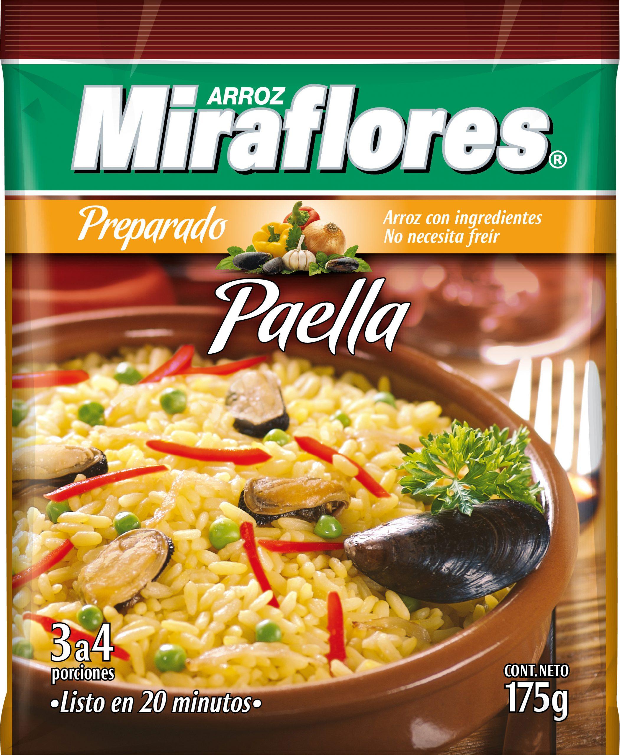 Arroz Preparado Paella